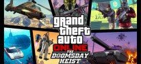 "Grand Theft Auto 5: GTA Online: The Doomsday Heist (mit Jetpack und ""Delorean"") angekündigt"