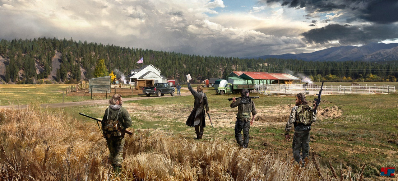 Unsicherheit als zentrales Element in Far Cry 5