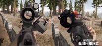 PlayerUnknown's Battlegrounds: PC-Update #25: Maschinenpistole Bizon, Schrägvisier und Mondschein auf Vikendi