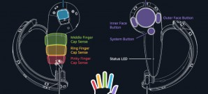 VR-Controller von Valve erfasst einzelne Finger
