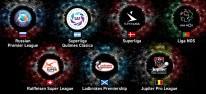Pro Evolution Soccer 2019: Sieben voll lizenzierte Ligen angekündigt; russische Premjer-Liga ist exklusiv
