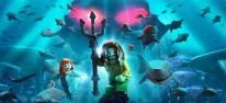 Lego DC Super-Villains: Zwei Downloadinhalte mit Aquaman stehen an