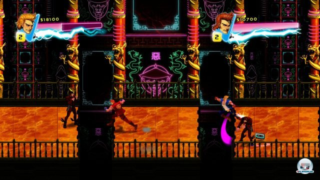 Screenshot - Double Dragon Neon (360) 92400307