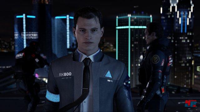 Cop-Androide Connor bleibt auch in brenzligen Lagen wie einer Geiselnahme die Ruhe selbst.