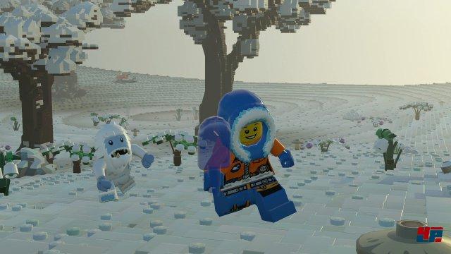 Eislandschaften, Dschungel, Wüsten, Wälder, Städte: Lego Worlds führt einen durch eine stattliche Zahl an Biomen.