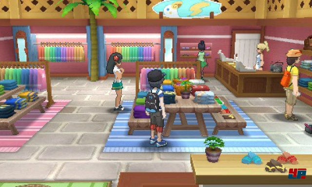 Screenshot - Pokémon Sonne & Mond (3DS)