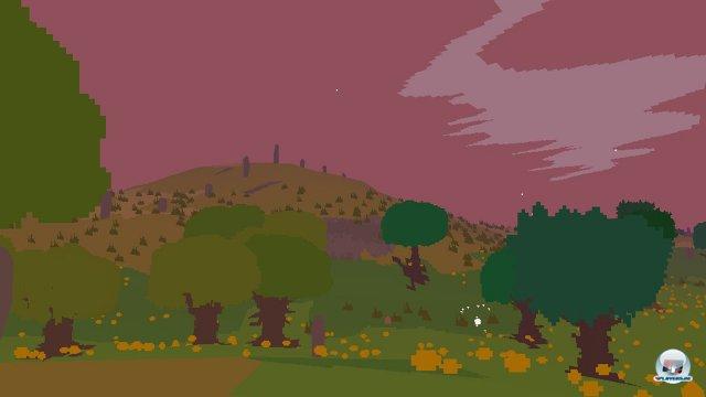 Die Pixelkunst verliert auf Vita nichts von ihrem Reiz.