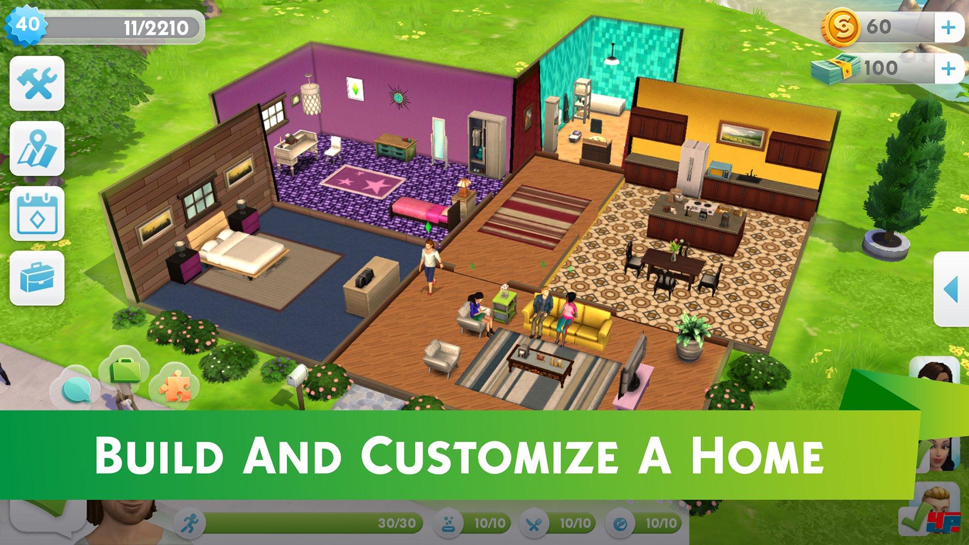 Die Sims Mobile: EA und Maxis kündigen iOS- und Android-Spiel an
