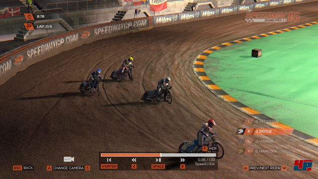 Screenshot - FIM Speedway Grand Prix 15 (PC)