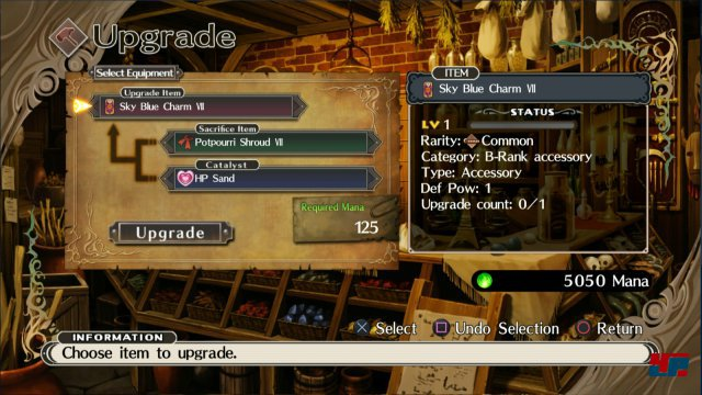 Screenshot - The Witch and the Hundred Knight (PlayStation4)