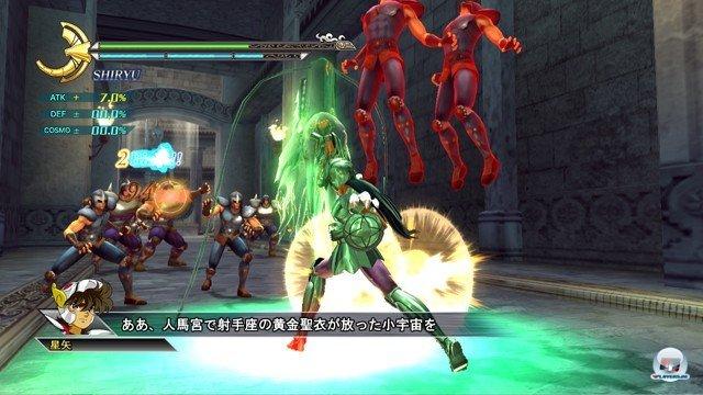 Screenshot - Saint Seiya: Sanctuary Battle (PlayStation3) 2274197