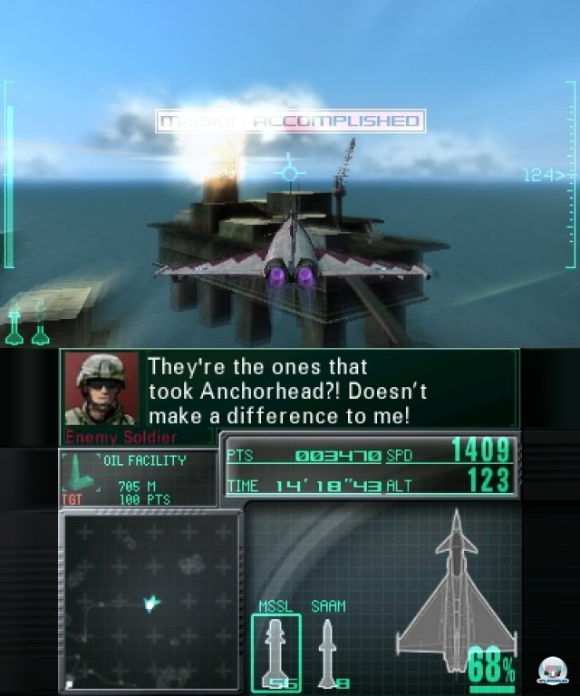 Screenshot - Ace Combat: Assault Horizon Legacy (3DS) 2301197