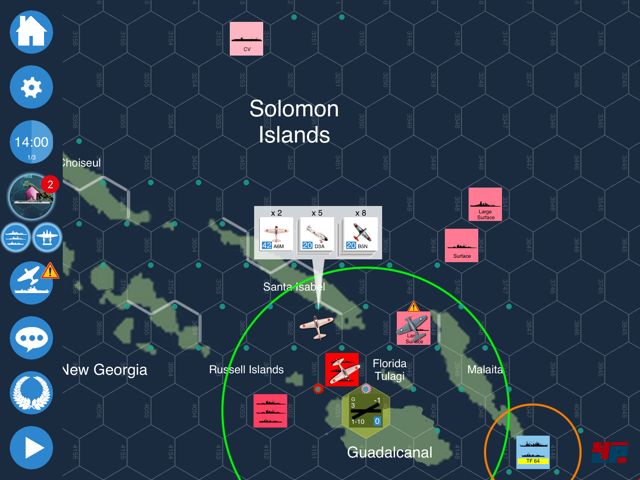 Screenshot - Carrier Battles for Guadalcanal (iPad)