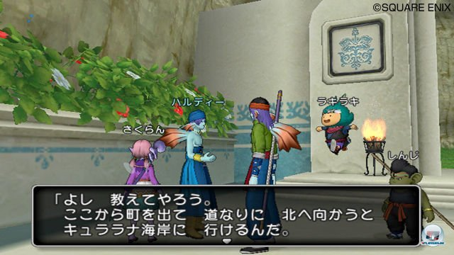 Screenshot - Dragon Quest X Online (Wii) 2277662