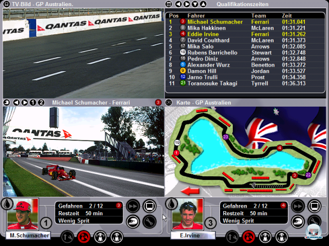 Screenshot - Grand Prix World (PC)