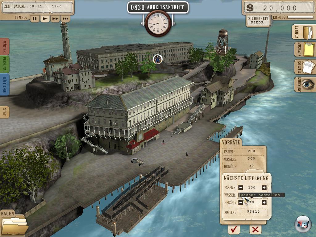 Screenshots Zu Alcatraz Die Gefängnis Simulation Alles Zum - Minecraft gefangnis spiele