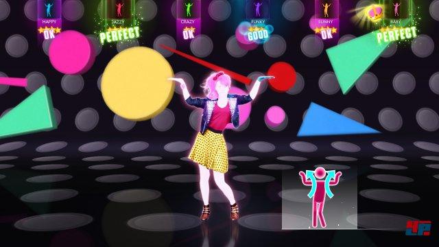 Farbenfroh und unkompliziert: Der Spaß steht bei Just Dance im Vordergrund.