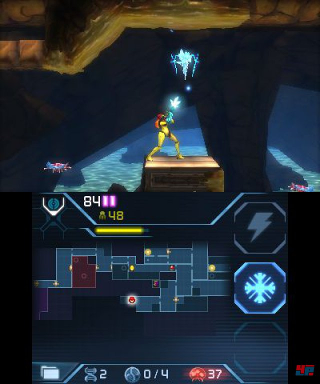 Screenshot - Metroid: Samus Returns (3DS) 92550504
