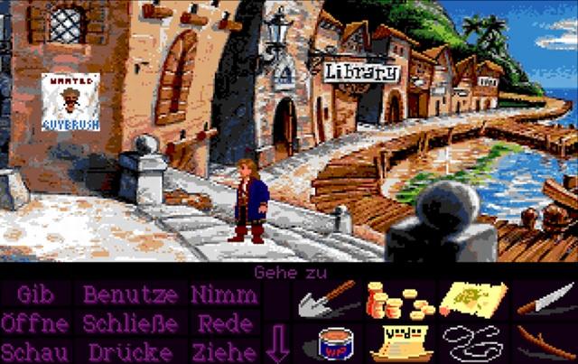 Speichermangel <br><br>  Doch gerade bei den großen Adventure- und Rollenspielen zeigte der Amiga Schwächen: Titel wie Monkey Island 2 und später auch Indiana Jones and the Fate of Atlantis wurden auf satten elf Disketten ausgeliefert - und das erst nach den PC-Versionen, die außerdem mit ihren 256 Farben sehr viel schöner aussehen als die abgespeckten 32-Farben-Editionen für den Amiga! Selbst mit einem zweiten Laufwerk wurde man vom Adventure-Liebhaber hier schnell zum frustrierten Diskjockey. Die Lösung: Eine Festplatte musste her!  2133098