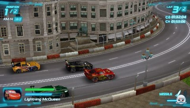 Screenshot - Cars 2: Das Videospiel (PSP) 2231622