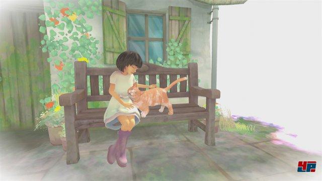 Ausgangspunkt für Raes ungewöhnliche Reise: Die zarte Freundschaft zwischen dem blinden Mädchen und der Katze Nani.