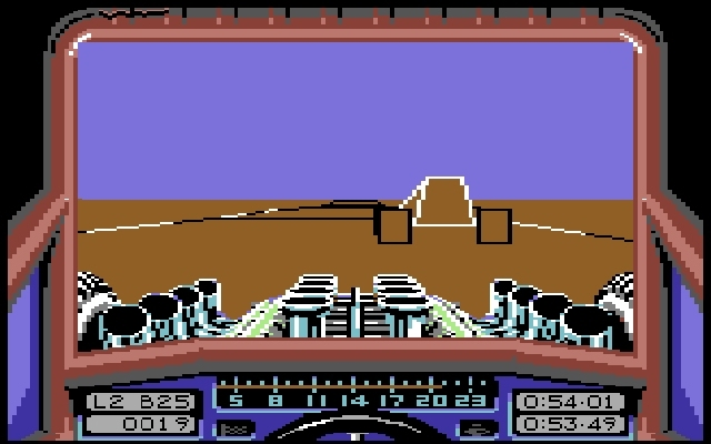 <b>Stunt Car Racer</b> (1989)<br> Entwickler: Geoff Crammond<br> Publisher: MicroStyle 1748463