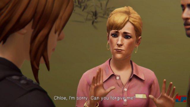 Die Gespräche mit Charakteren abseits von Rachel wirken gehetzt und lassen nicht genug Raum, um wirklich mit ihnen zu kommunizieren.