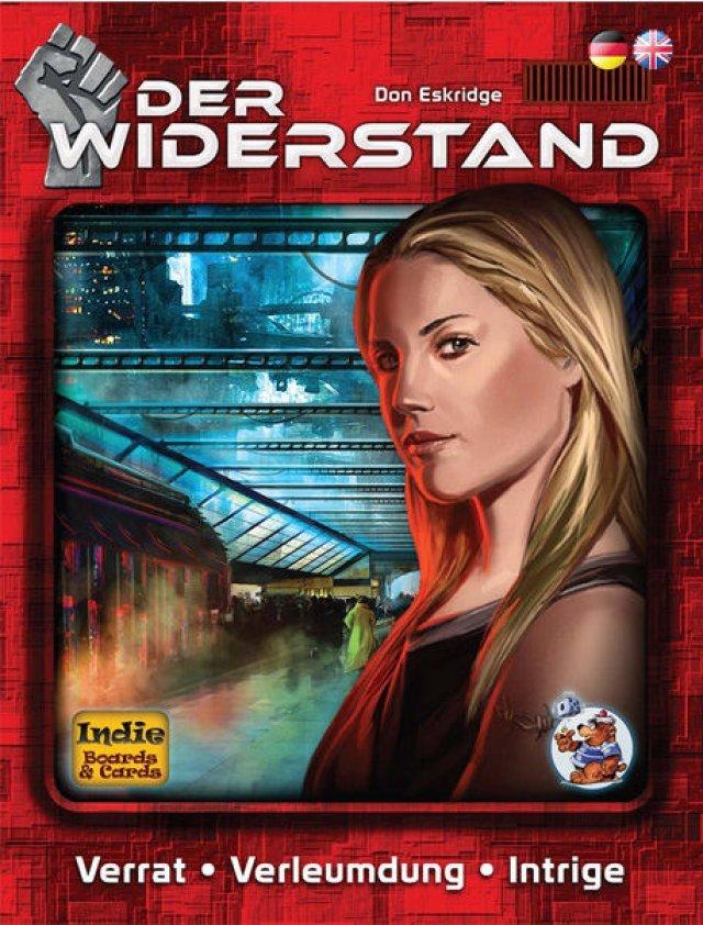 Der Widerstand für fünf bis zehn Spieler ist komplett auf Deutsch für knapp 15 Euro beim Heidelberger Spielverlag erschienen.