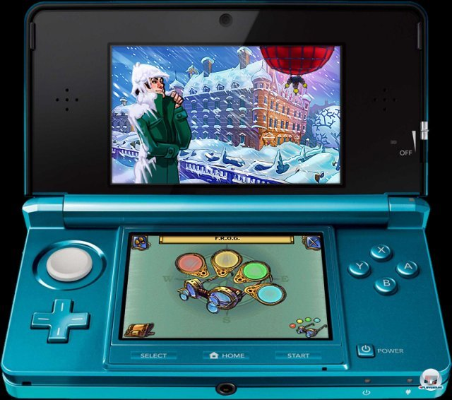 Screenshot - Sherlock Holmes and the Mystery of the Frozen City (3DS) 92401397
