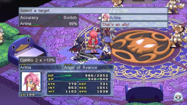 Screenshot - Disgaea 4: A Promise Unforgotten (PlayStation3) 2241409