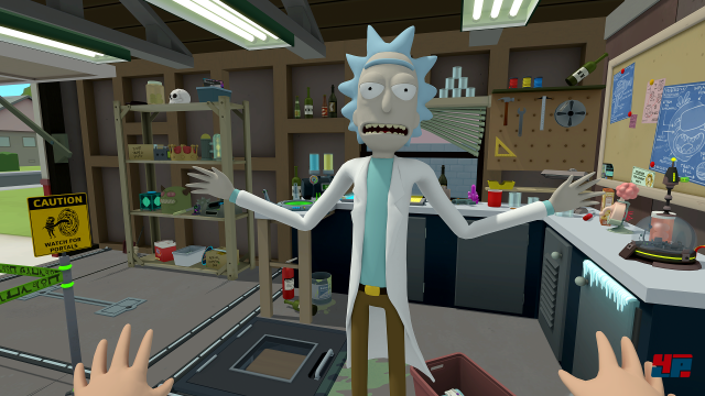 Screenshot - Rick and Morty: Virtual Rick-Ality (HTCVive)