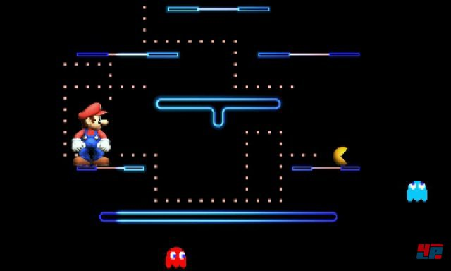 Vorsicht, Retro-Attacke: Pac-Man hat einige surreale Spezialitäten im Repertoire.