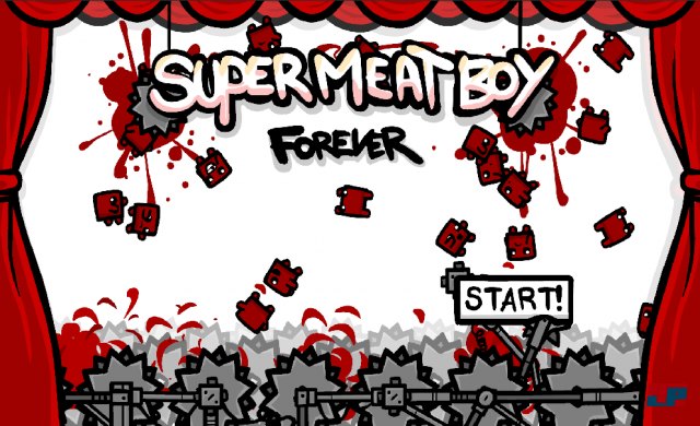 Screenshot - Super Meat Boy Forever (Android)