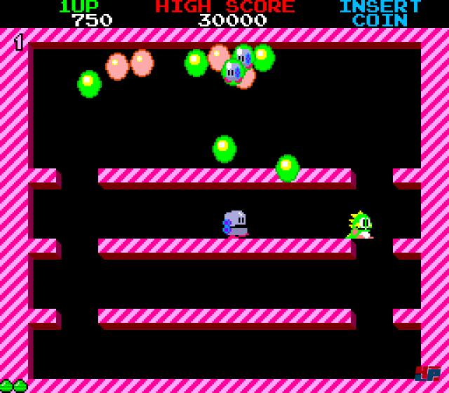 Screenshot - Bubble Bobble (Oldie) (PC)