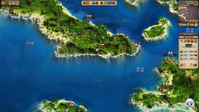 Fernhandel im Kleinen. Ein Dreieck aus Port Royale, Puerto Price und Santiago de Cuba lädt zum Profit ein.