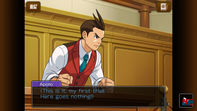 Screenshot - Apollo Justice: Ace Attorney (Android)