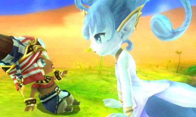 Screenshot - Ever Oasis (3DS)