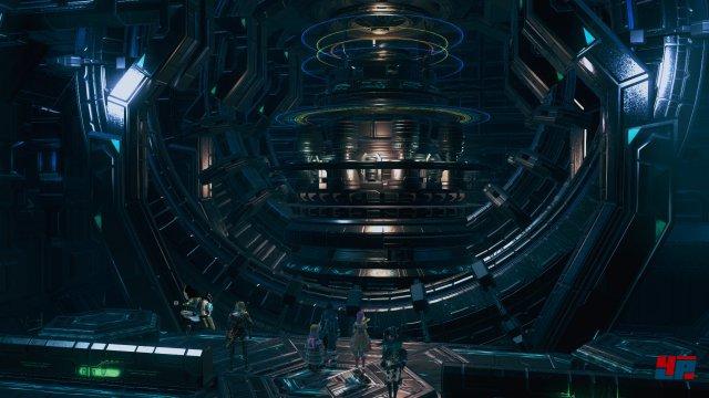 Auch im fünften Star-Ocean-Abenteuer prallen Fantasy- und Sci-Fi-Welten wieder aufeinander.