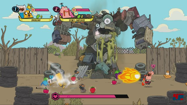 Screenshot - Cartoon Network: Battle Crashers (3DS)