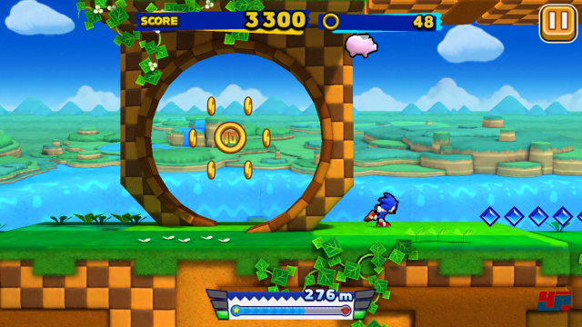 Screenshot - Sonic Runners (Android)