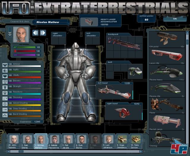 Скриншот из игры UFO: Extraterrestrials под номером 9. Смотреть полную верс
