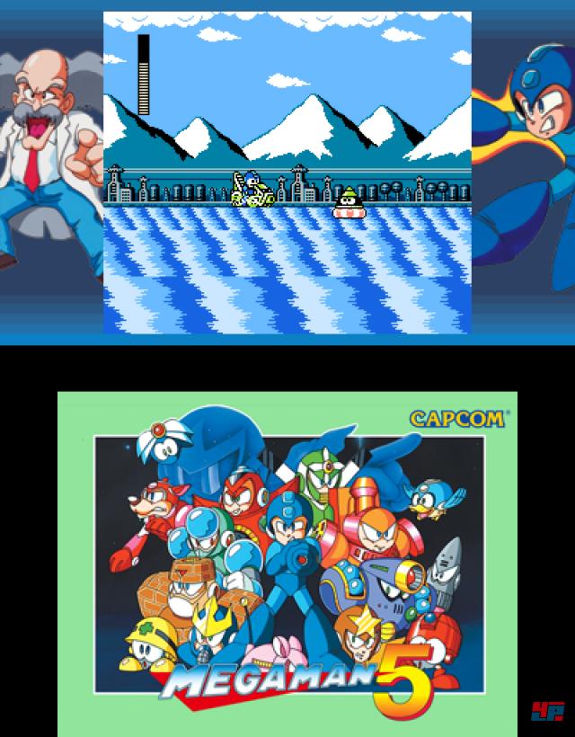 Die Umsetzungen sind technisch sauber - bis auf Mega Man 5, dessen Rock-Man-Variante deutlich flüssiger läuft.