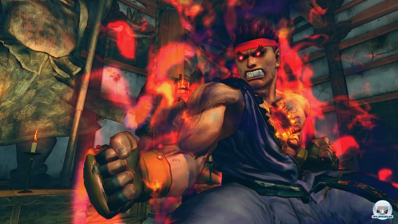 Evil Ryu ist einer der vier neuen Fighter.