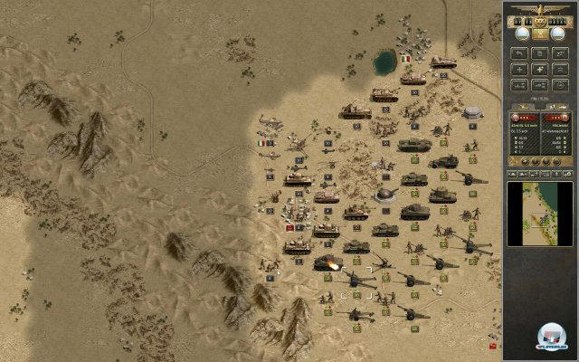 Screenshot - Panzer Corps: Afrika Korps (PC) 92422247