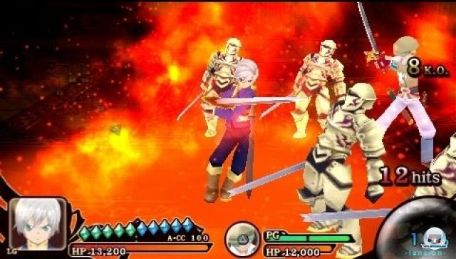 Screenshot - Tales of the Heroes: Twin Brave (PSP) 2295472
