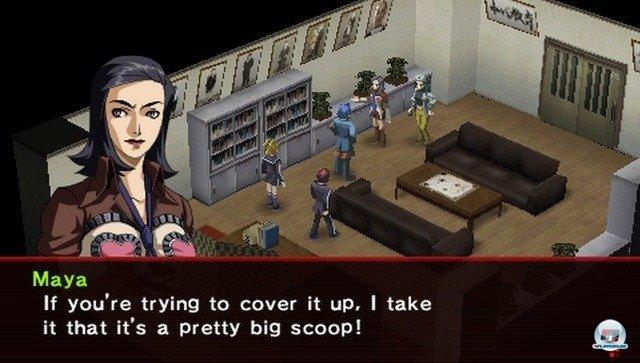 Screenshot - Shin Megami Tensei: Persona 2 - Innocent Sin (PSP) 2254522