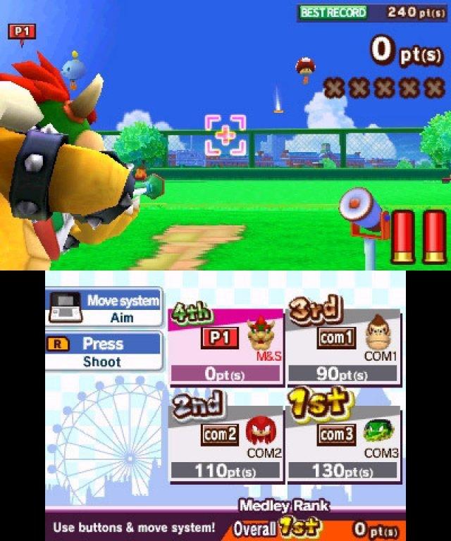 Screenshot - Mario & Sonic bei den Olympischen Spielen: London 2012 (3DS) 2304947