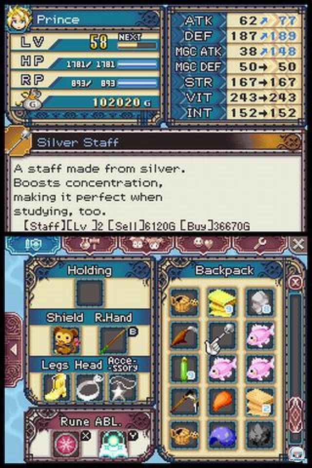 Screenshot - Rune Factory 3: A Fantasy Harvest Moon (NDS) 2273117