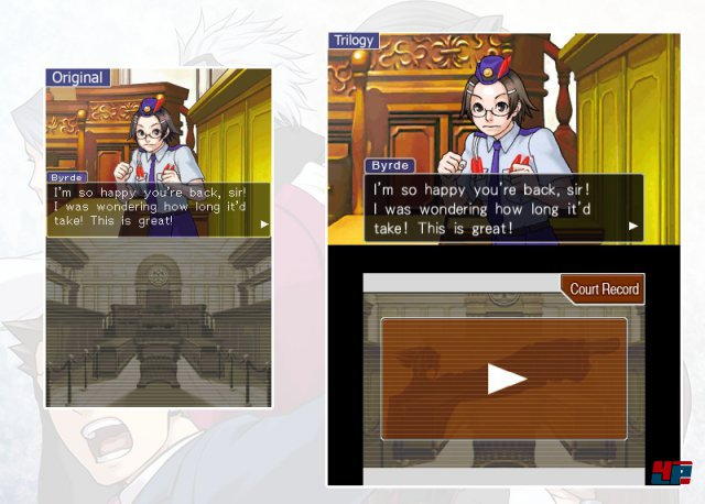 Screenshot - Phoenix Wright: Ace Attorney Trilogy (3DS)