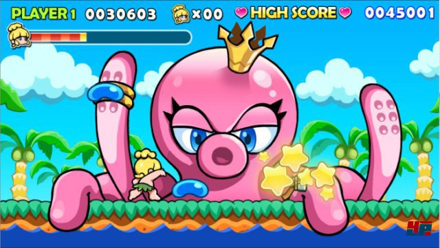 Screenshot - Wonder Boy Returns (PC)